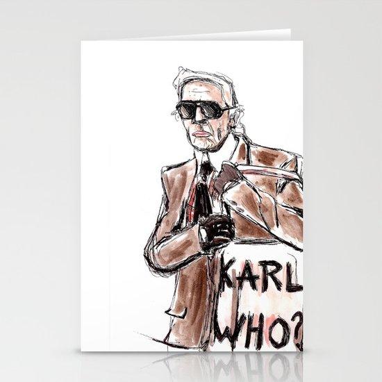 Karl who? Stationery Card