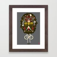There Are Things You Sho… Framed Art Print