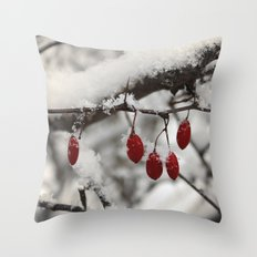 Finding Red Throw Pillow