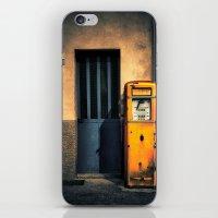 Italian Gas Station iPhone & iPod Skin