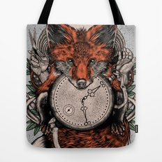 Chaos Fox Tote Bag