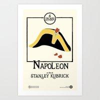 Stanley Kubrick's NAPOLE… Art Print