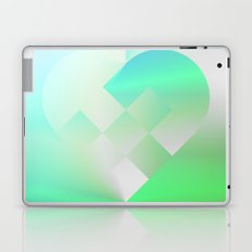 Danish Heart Mint Laptop & iPad Skin