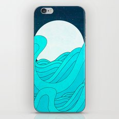 The Moon and the Sea iPhone & iPod Skin