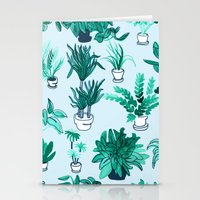 Houseplants All Over The… Stationery Cards