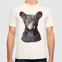 Little Bear Mens Fitted Tee Natural SMALL