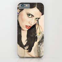 iPhone & iPod Case featuring The Gaze by keith p. rein