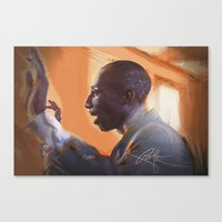 The musical director Canvas Print