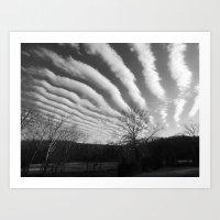 Clouds 2015 Art Print