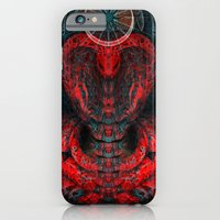 Seen Through Flames and Ashes iPhone 6 Slim Case