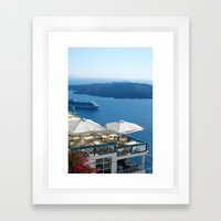Thira Framed Art Print