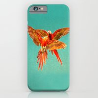 iPhone Cases featuring INFLIGHT FIGHT by Catspaws