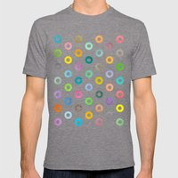 Auras. Mens Fitted Tee Tri-Grey SMALL