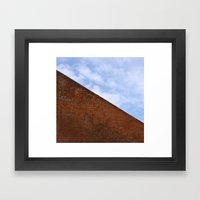 Steel Heart Framed Art Print