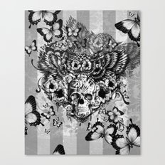 Lost And Found, Floral O… Canvas Print
