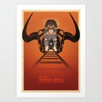 Steven Spielberg's INDIANA JONES AND THE TEMPLE OF DOOM Art Print