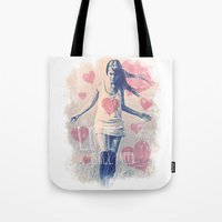 ALL I NEED IS LOVE Tote Bag