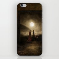 Escape To The Moon iPhone & iPod Skin