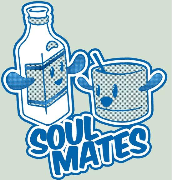 Soul Mates!  Art Print