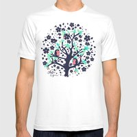 Bloomy Mens Fitted Tee White SMALL