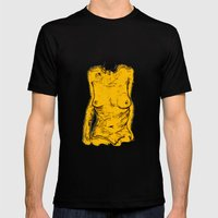 The Yellow Bits Mens Fitted Tee Black SMALL