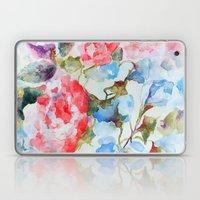 Peonies And Morning Glor… Laptop & iPad Skin