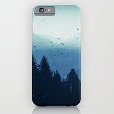 Blue Valmalenco - Alps at sunrise iPhone 6 Slim Case