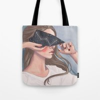 Inside Her Reflection... Tote Bag