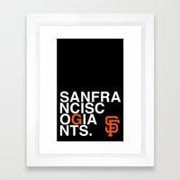 Together We're Giant Framed Art Print