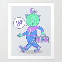 Yo! Art Print