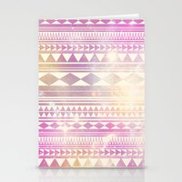 Galaxy Tribal Stationery Cards