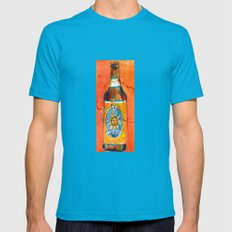 BEER ART - Oberon Ale Mens Fitted Tee Teal SMALL