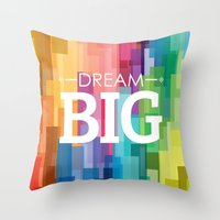 Dream_big Throw Pillow