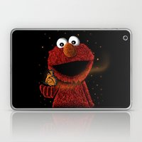 Elmo and Little Butterfly Laptop & iPad Skin