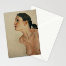 The nude dreamer Stationery Cards
