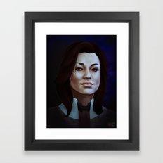 Mass Effect: Miranda Lawson Framed Art Print