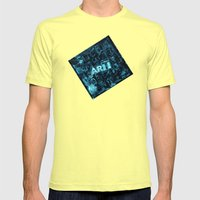 Art Mens Fitted Tee Lemon SMALL