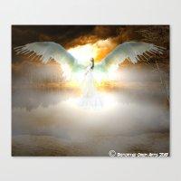 Angelic Maiden Canvas Print