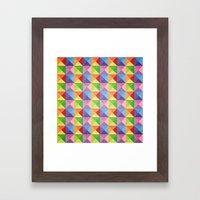 Squiangle Again & Again.… Framed Art Print
