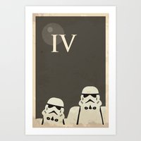Star Wars Minimal Movie … Art Print