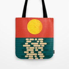Sun Over The Sea - Afternoon Tote Bag