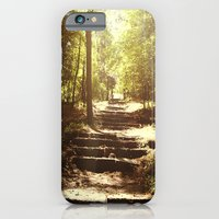 iPhone & iPod Case featuring Up the Down Stairs by Em Beck