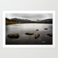 Elterwater, Lake District  Art Print