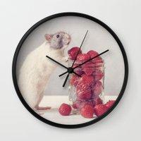Snoozy Wall Clock