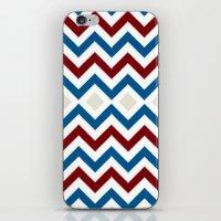 Nautical Chevron iPhone & iPod Skin
