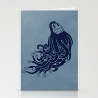 Octadecapus Stationery Cards