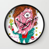 nothing's politic, all is love Wall Clock