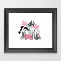 Mini Jungle  Framed Art Print