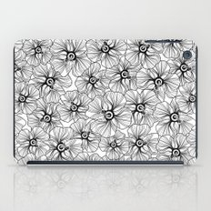 My garden. black and white.  iPad Case