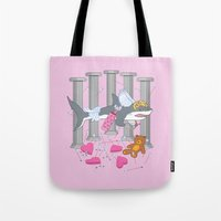 The Cupid Shark Tote Bag